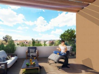 T3 Neuf  61m² avec Terrasse 66m² Hôpitai=ux-Facultés