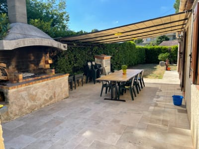 Villa Individuelle Plain pied calme, 90 m² - CAGNES SUR MER (06800)