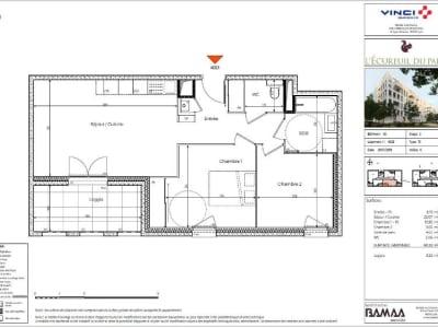 Appartement Lyon - 3 pièce(s) - 60.32 m2