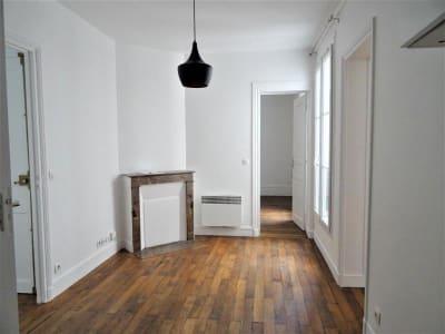 Appartement rénové Paris - 3 pièce(s) - 41.07 m2
