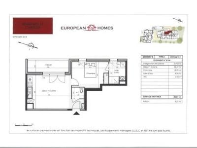 St Nazaire - 2 pièce(s) - 42.86 m2