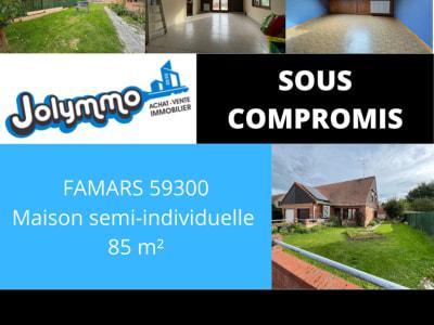 FAMARS -SEMI-INDIVDUELLE - 3 CHAMBRES -GARAGES - JARDIN