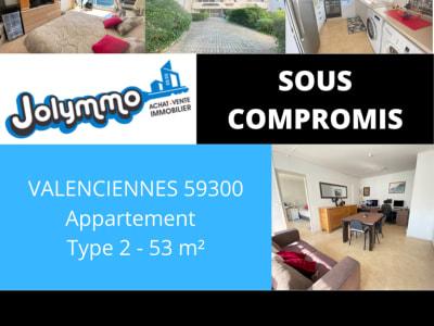 Appartement Valenciennes 2 pièce(s) 53.34 m2 Rue Milhomme
