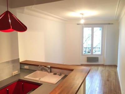 Appartement rénové Paris - 2 pièce(s) - 36.18 m2