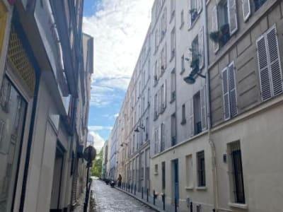 Appartement Paris - 1 pièce(s) - 18.3 m2