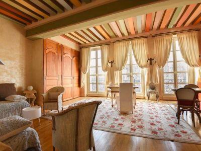Magnifique grand studio meublé (style loft), de 51m² avec vue su