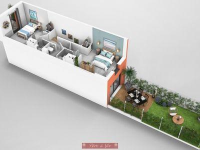 Bormes Les Mimosas - 3 pièce(s) - 57.7 m2 - 1er étage