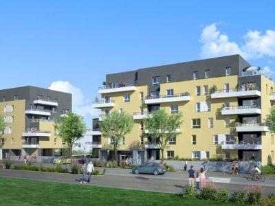 Fleury Sur Orne - 2 pièce(s) - 41.1 m2 - 1er étage
