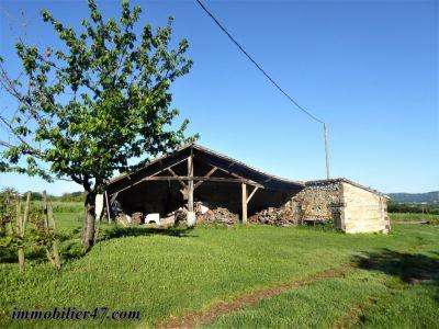 Grange en pierre à rénover avec trés joli point de vue