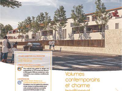 Vendargues T3 NEUF  64 m²+ Terrasse 9m²+ 2Garages