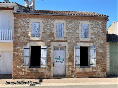Maison à rénover à Sainte Livrade Sur Lot 6 pièces :135 m²