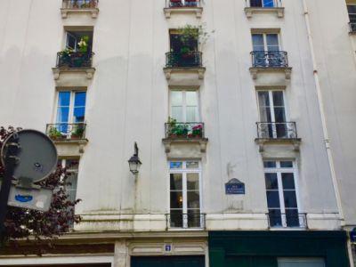 Appartement Duplex Paris 2 pièce(s) 46.87 m2