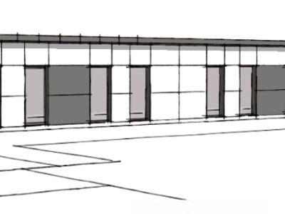 Location Bureaux neufs de 165 m2