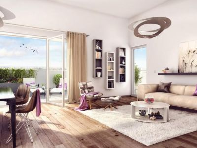 Colombes - 3 pièce(s) - 61.2 m2 - 1er étage