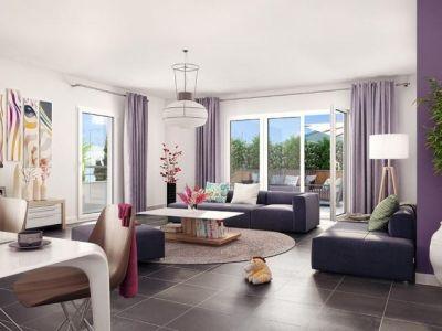 Clichy - 3 pièce(s) - 64.26 m2 - 2ème étage