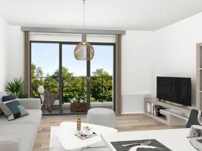 Issy Les Moulineaux - 3 pièce(s) - 58.21 m2 - 2ème étage