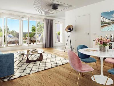 Issy Les Moulineaux - 3 pièce(s) - 63.7 m2 - 2ème étage
