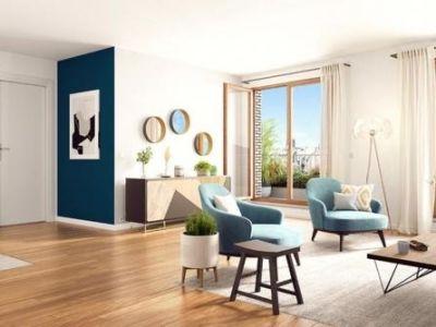 St Ouen - 5 pièce(s) - 95.32 m2 - 3ème étage