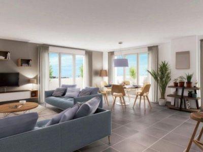 Colombes - 4 pièce(s) - 82.58 m2 - 1er étage