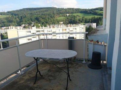 Appartement Meublé Bellevue avec balcon