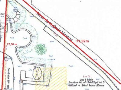 A Saint-Chéron terrain 480m2, zone UR3