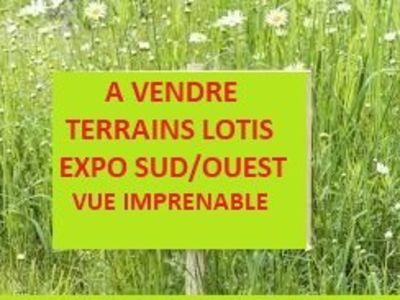 Terrains lotis secteur Le Monastier
