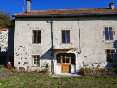 Maison de village à rénover - Petit terrain attenant