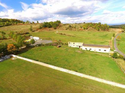 Bâtiment à usage agricole sur 4500m2 constructible