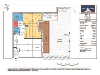 NEUF : Samoën Centre - Appartement 3 pièces 63,50 m2