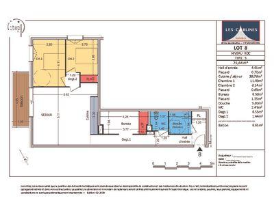 NEUF : Samoën Centre - Appartement 3 pièces 77 m2
