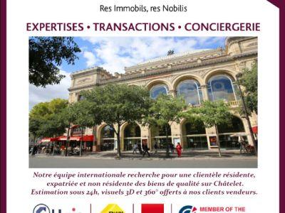 APPARTEMENT RENOVE PARIS - 2 pièce(s) - 22 m2