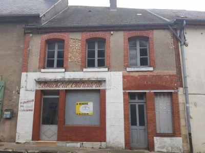 MAISON DE VILLAGE IVOY LE PRE - 6 pièce(s) - 100 m2