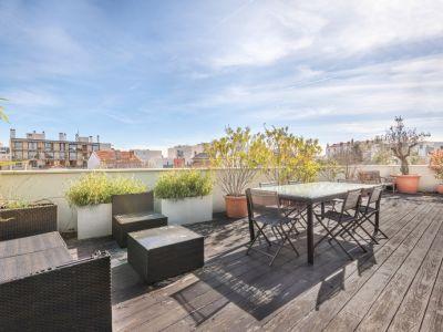 Toit terrasse rénové par un architecte