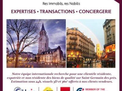APPARTEMENT BOURGEOIS PARIS - 2 pièce(s) - 46 m2
