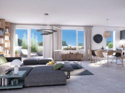 Appartement Duplex Nantes- Durantière 3 pièce(s) 66.41 m2
