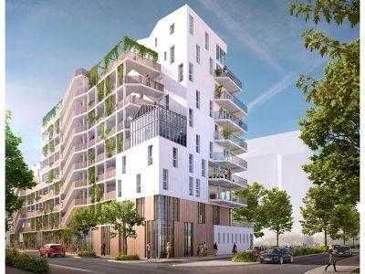 Appartement Ile de Nantes 4 pièce(s) 127.60 m2
