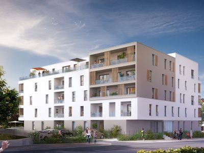 Appartement Saint Nazaire 4 pièce(s) 83,01m2