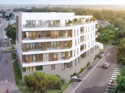 Appartement Saint Nazaire 2 pièce(s) 44,37m2