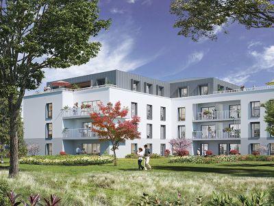Appartement Angers Rive Droite 2 pièce(s) 43,42m2