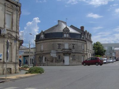 Immeuble de rapport au centre-ville de Fontenay-le-Comte