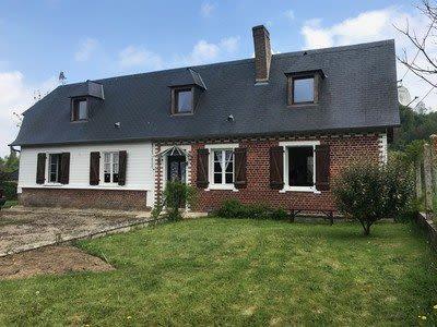 Maison située proche de Foucarmont
