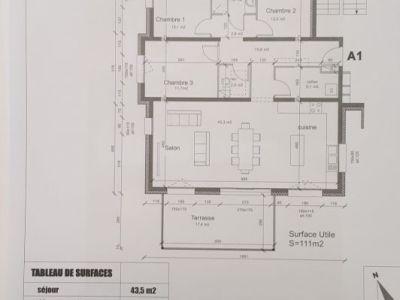 Péronnas - 4 pièce(s) - 111 m2