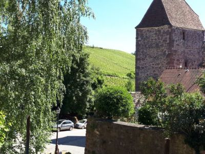 A saisir à Riquewihr, Loft de 120 m2, sur les remparts..