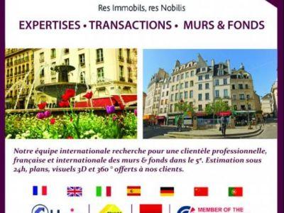 COMMERCIAL PARIS - 205 m2