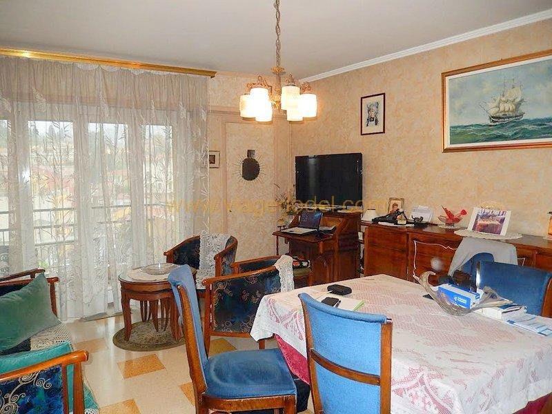 Viager appartement Menton 75000€ - Photo 1