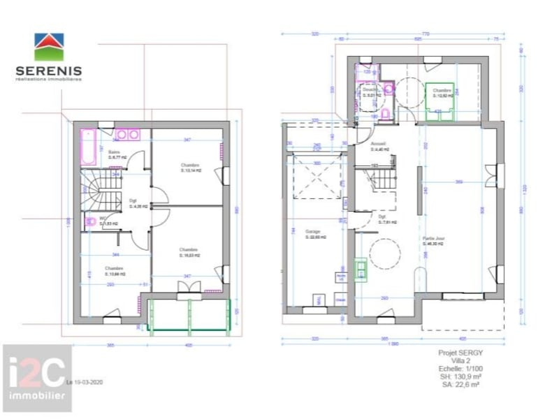 Venta  casa Sergy 569000€ - Fotografía 2