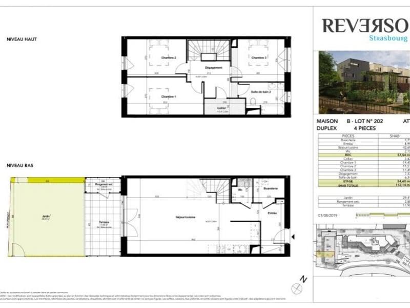 Sale house / villa Strasbourg 428000€ - Picture 1