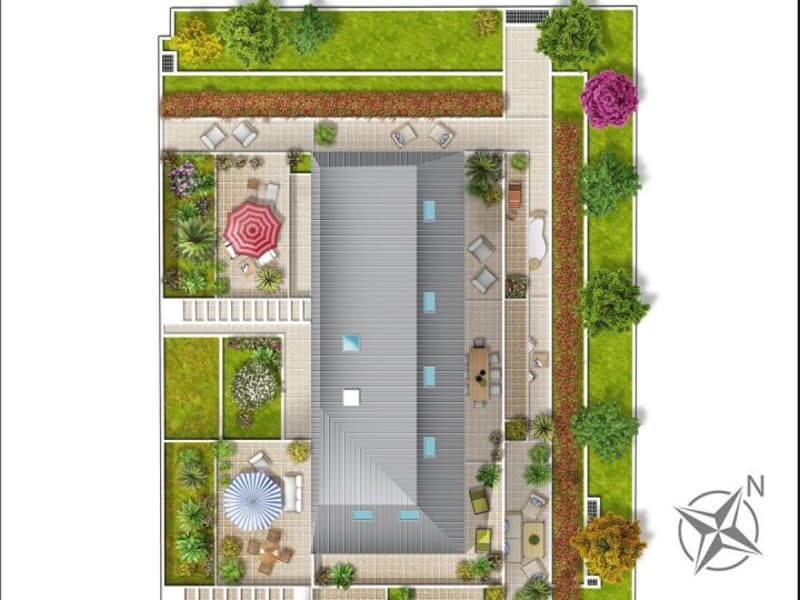 New home sale apartment Choisy-le-roi  - Picture 2