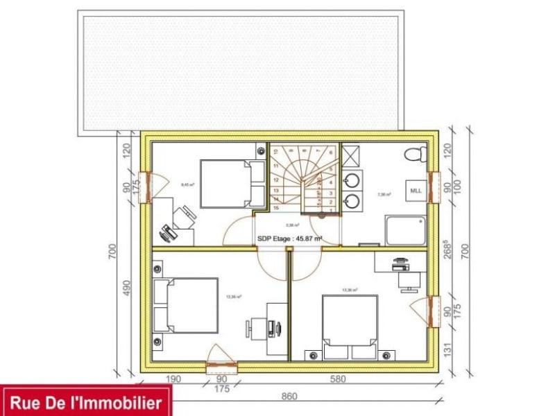 Vente maison / villa Thal marmoutier 181050€ - Photo 6
