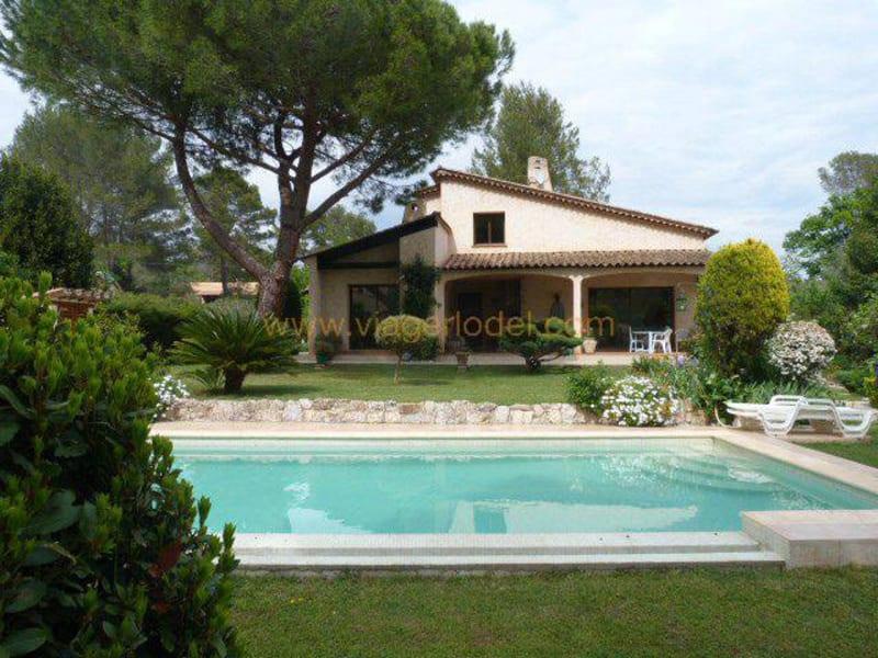 Verkauf auf rentenbasis haus Roquefort-les-pins 345000€ - Fotografie 1